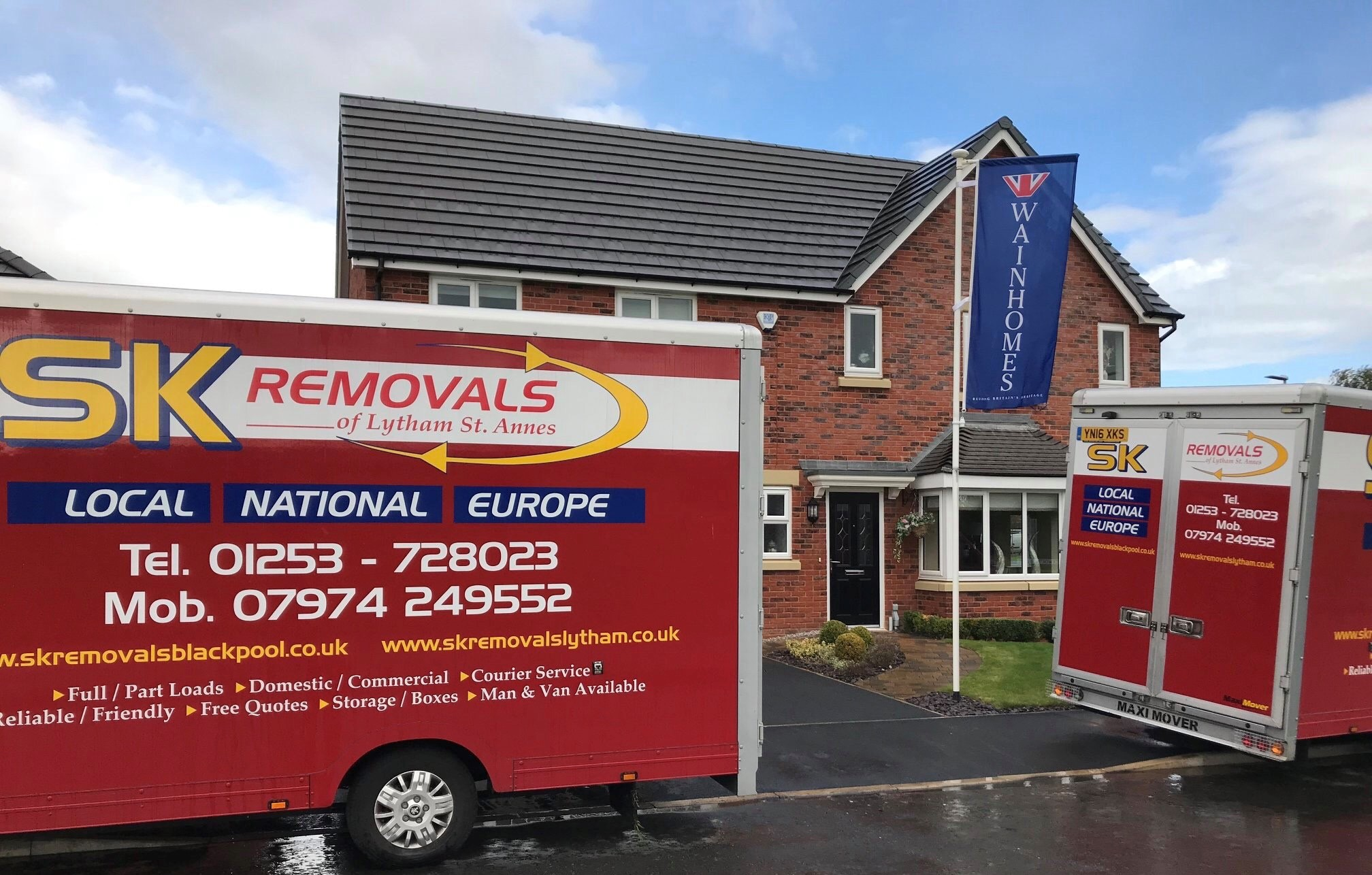 House Removals Blackpool