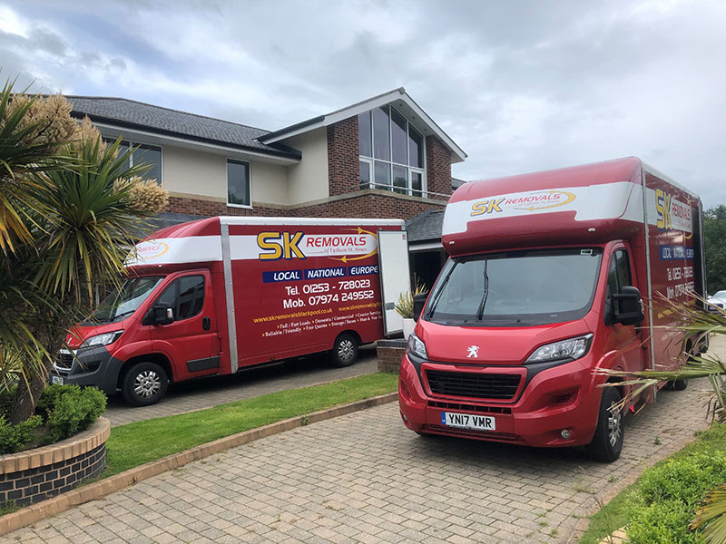 Office Removals Blackpool